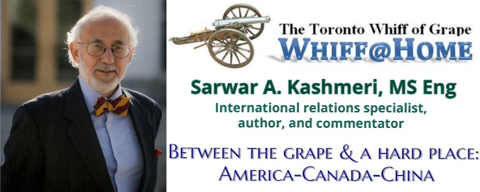 Sarwar Kashmeri, an international relations specialist, author, and commentator